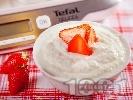Рецепта Ванилов йогурт крем с кокос за десерт